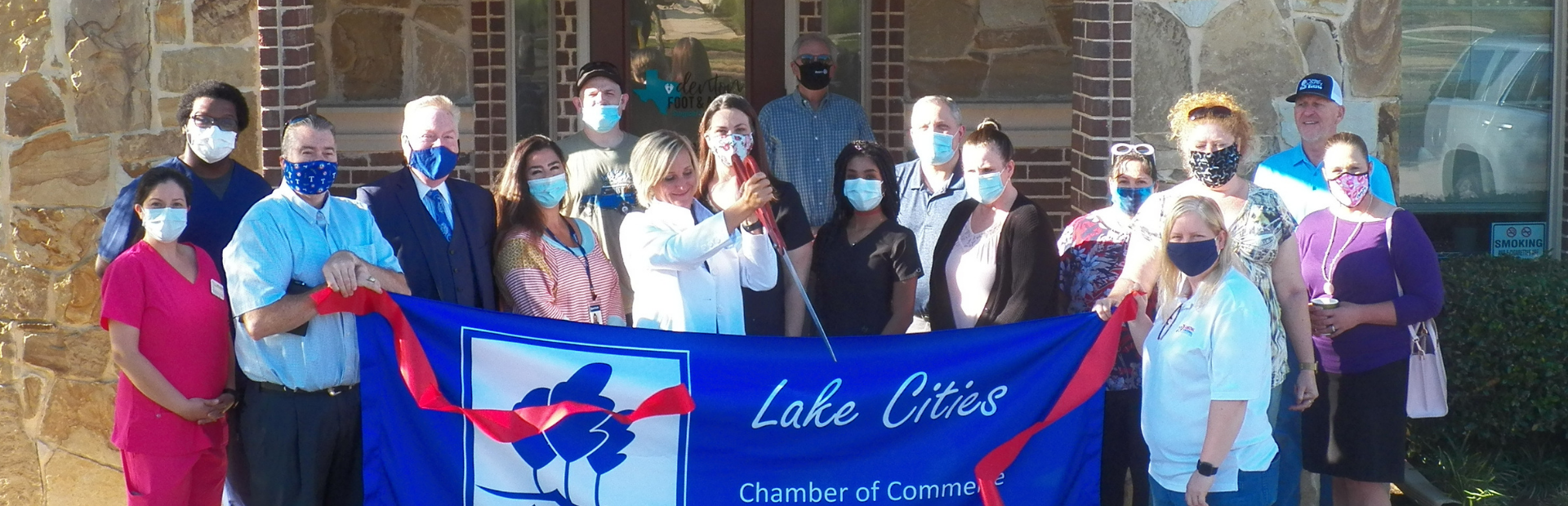 Lake Cities Chamber of Commerce | Ribbon Cutting | Denton Foot & Ankle