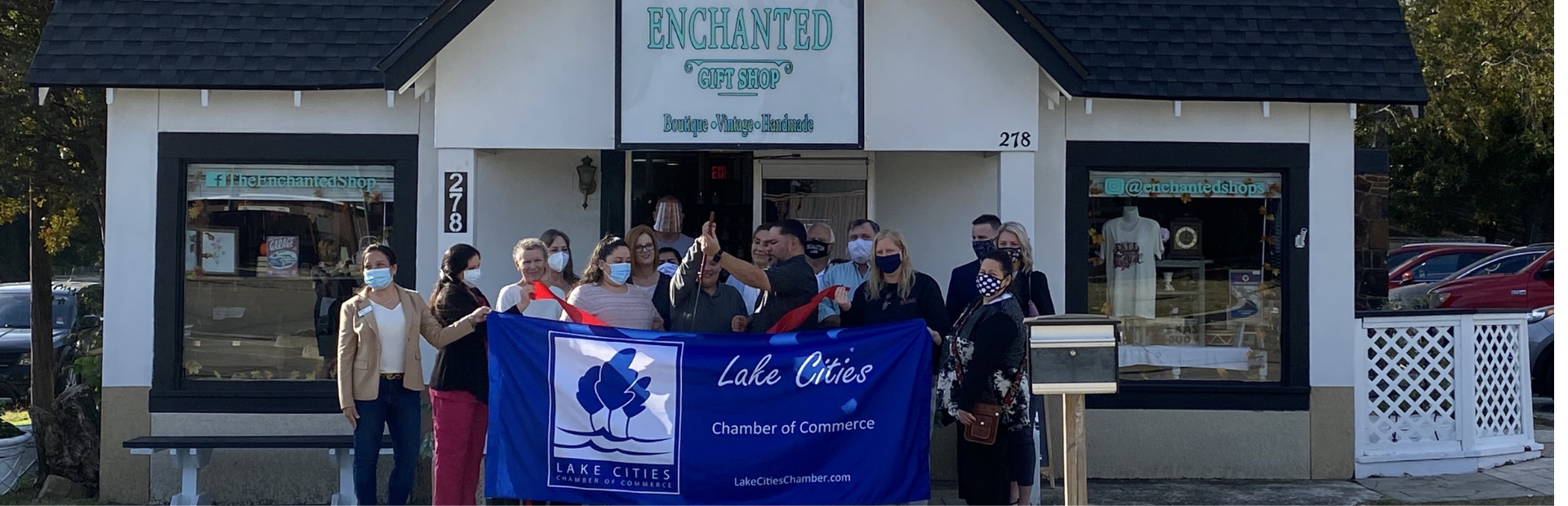 Lake Cities Chamber of Commerce | Ribbon Cutting | The Enchanted Shop