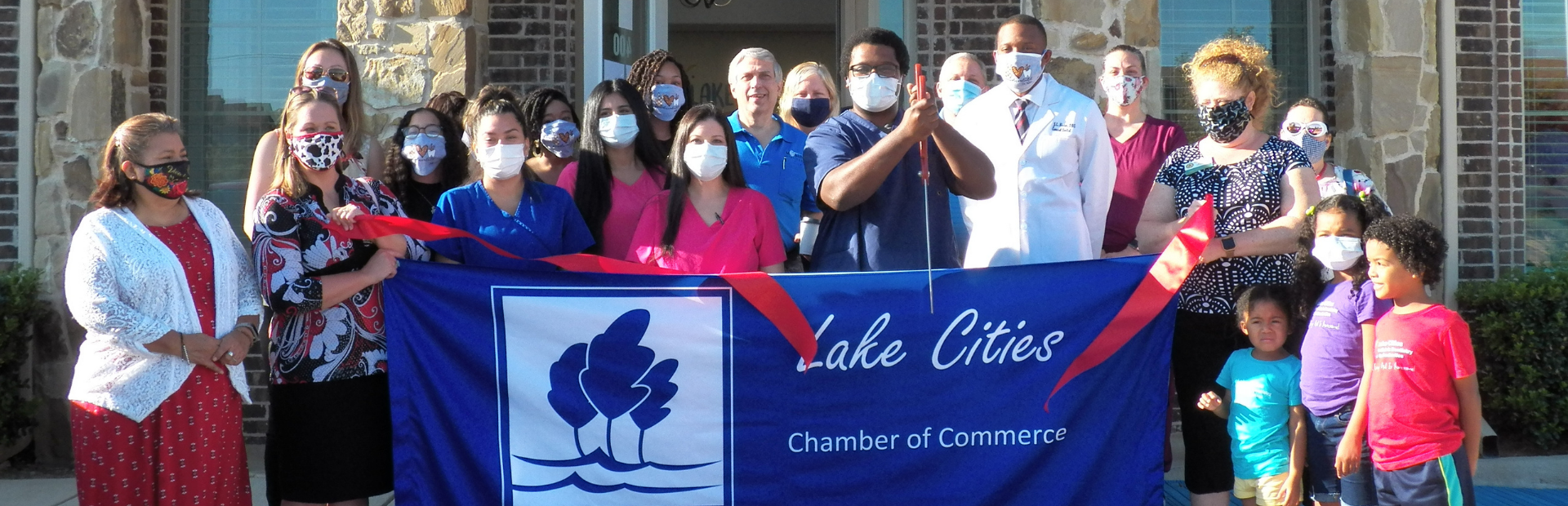Lake Cities Chamber of Commerce | Ribbon Cutting | Lake Cities Pediatric Dentistry & Orthodontics