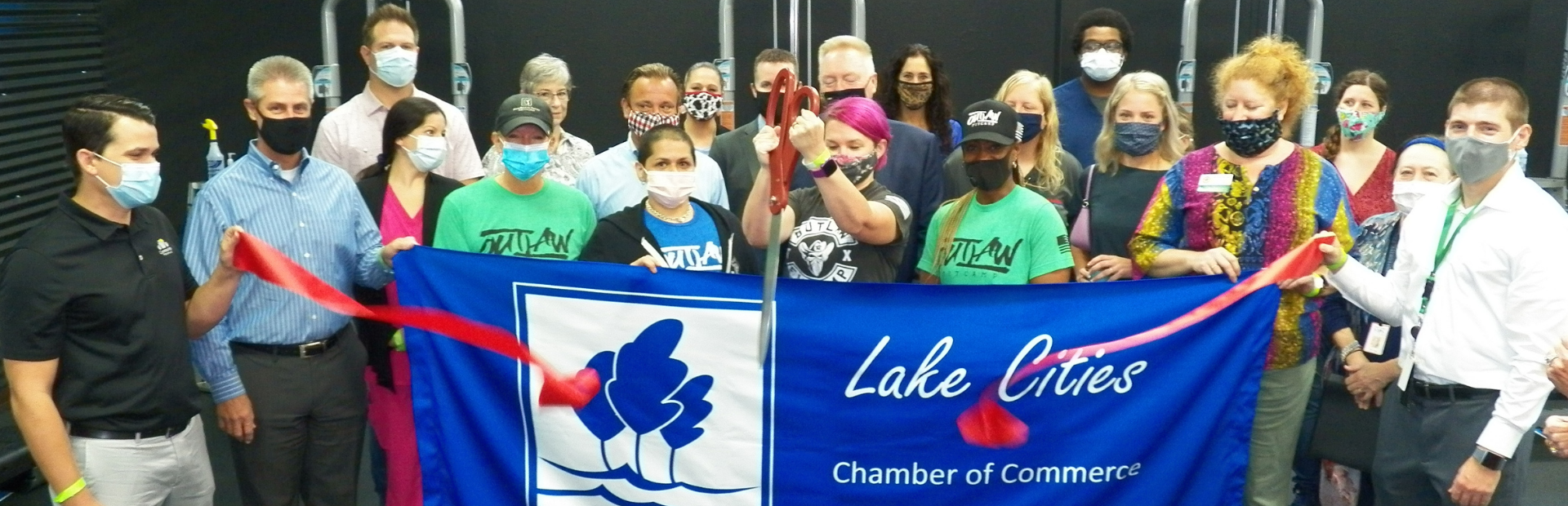 Lake Cities Chamber of Commerce | Ribbon Cutting | Outlaw FitCamp