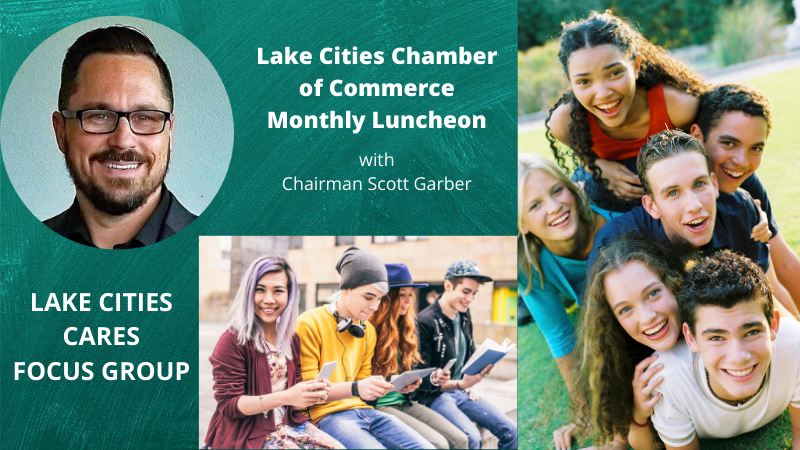 Lake Cities Chamber of Commerce | Jan 2021 Monthly Luncheon | Lake Cities Cares Focus Group