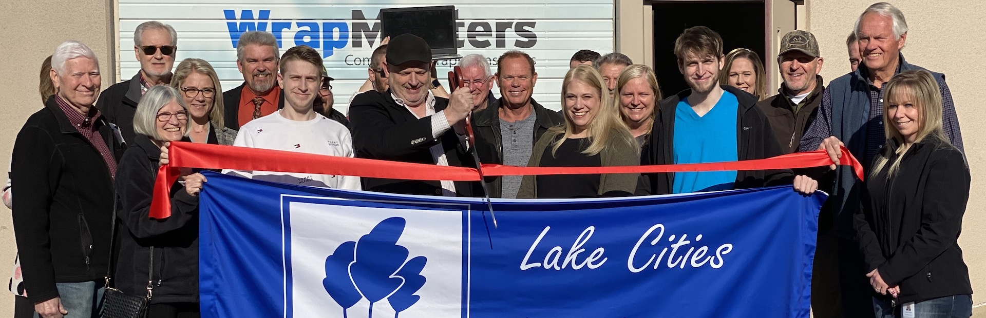 Lake Cities Chamber of Commerce | WrapMasters | Ribbon Cutting